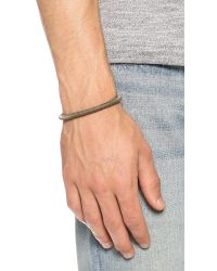 Giles & Brother - Metallic Skinny Double Nut Cuff for Men - Lyst