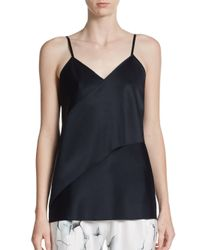 3.1 Phillip Lim | Blue Asymmetrical Tank Top | Lyst