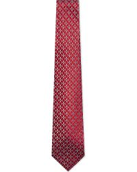 Charvet | Red Heart Pattern Silk Tie - For Men for Men | Lyst
