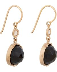Irene Neuwirth | Pink Black Onyx & Diamond Earrings | Lyst