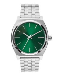 Nixon - Green 'the Time Teller' Bracelet Watch for Men - Lyst