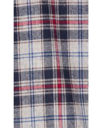 Stampd - Blue Plaid Flannel Button Down for Men - Lyst