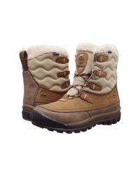 Timberland Brown Woodhaven Mid Waterproof Insulated