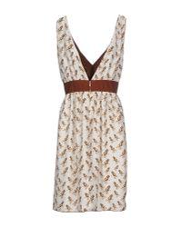 Mauro Grifoni - White Short Dress - Lyst