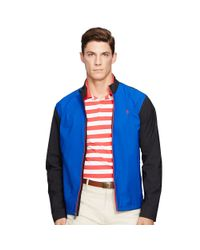Pink Pony - Blue Core Breaker Bi-swing Jacket for Men - Lyst