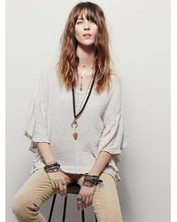 Free People | Natural Takin My Time Top | Lyst