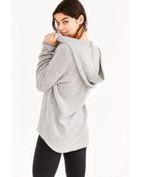 Project Social T | Gray So Fluffy Hoodie Sweatshirt | Lyst