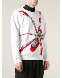 McQ | White Printed Sweatshirt for Men | Lyst