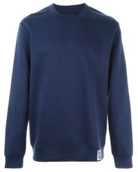 Raf Simons - Blue Cashmere Blend Sweater for Men - Lyst