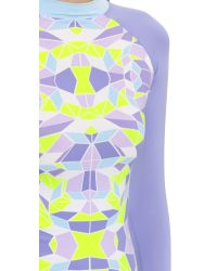 Zinke | Gray Brooks Rash Guard - Kaleidoscope | Lyst