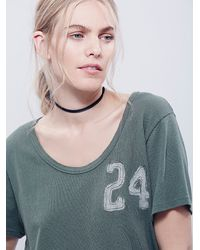 Free People - Green We The Free Womens We The Free Je T'aime Tee - Lyst