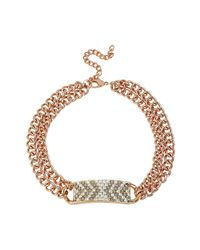 Steve Madden - Metallic necklaces - Lyst