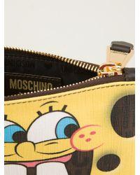 Moschino - Yellow Sponge Bob Wallet - Lyst