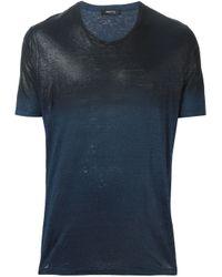 Avant Toi - Blue Degradé T-shirt for Men - Lyst