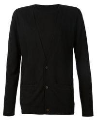 Uma Wang - Black Layered Sweater for Men - Lyst