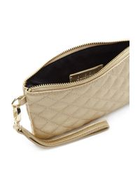 Forever 21 - Quilted Metallic Clutch - Lyst