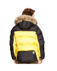 Pink Pony - Black Water-resistant Down Parka - Lyst