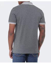 BOSS - Gray Janis Polo Shirt for Men - Lyst