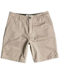 Quiksilver - Natural Men's Everyday Regular-fit Chino Shorts for Men - Lyst