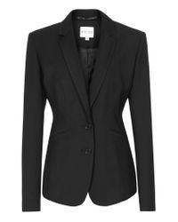 Reiss | Black Sorrento Slim Fit Blazer | Lyst