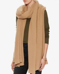 Exclusive For Intermix - Natural Cashmere Travel Scarf - Lyst