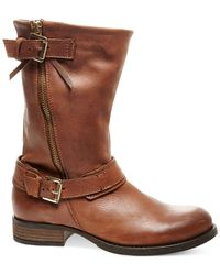 Steve Madden - Brown Kavilier Mid-shaft Booties - Lyst