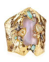 Alexis Bittar | Blue Elements Rocky Cluster Cuff Bracelet | Lyst