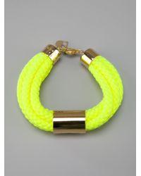 Sabrina Dehoff - Green Cord Bracelet - Lyst