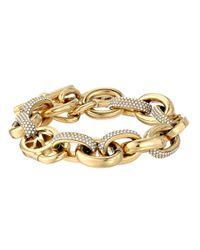 Michael Kors | Metallic Color Block Bracelet | Lyst