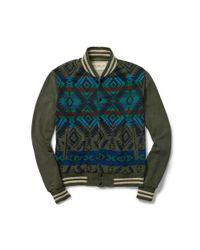 Denim & Supply Ralph Lauren - Multicolor Cotton Terry Baseball Jacket for Men - Lyst