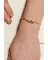 Chloé - Metallic Arrow Goldtone Bracelet - Lyst