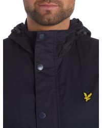 Lyle & Scott | Blue Microfleece Lined Full Zip Jacket for Men | Lyst