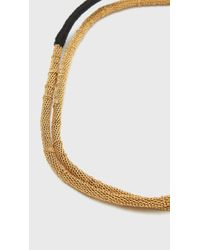 Wwake | Metallic Single Chain Wrap | Lyst