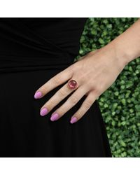 Andrea Fohrman - Cabochon Pink Tourmaline Ring - Lyst