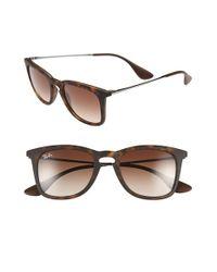 Ray-Ban - Brown 50mm Retro Sunglasses - Lyst