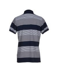 French Connection - Blue Polo Shirt for Men - Lyst