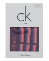 Calvin Klein - Purple Lee Stripe Trunk for Men - Lyst