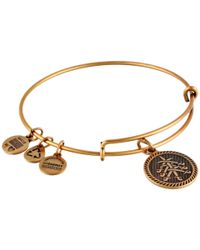 ALEX AND ANI | Metallic Seven Swords Charm Bangle | Lyst