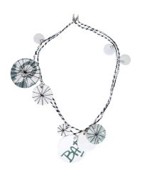 P.a.m. Perks And Mini - White Necklace - Lyst