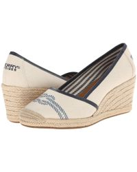 Sperry Top-Sider - Natural York Nautical Not - Lyst