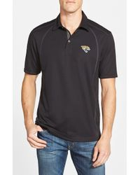 Tommy Bahama - Black 'firewall - Jacksonville Jaguars' Short Sleeve Nfl Polo for Men - Lyst