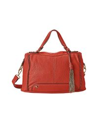 Jessica Simpson | Orange Sienna Crossbody Satchel | Lyst