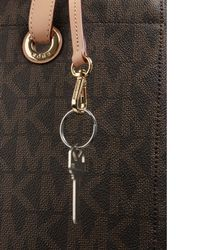 Michael Kors | Brown Logo Tote For Macbook, Large | Lyst