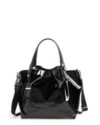 Tod's | Black 'small Flower' Satchel | Lyst