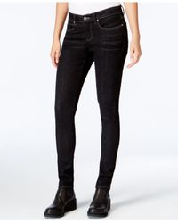 Eileen Fisher | Blue Low-rise Skinny Black Wash Jeans | Lyst