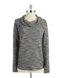 Jones New York - Gray Faux-fur Sweater Vest - Lyst