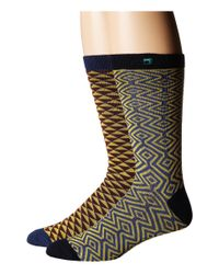 Scotch & Soda | Multicolor Classic Socks In Fun Pattern - 2-pack for Men | Lyst