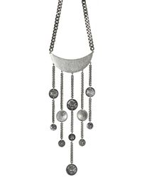 Jenny Bird - Metallic Lunadance Necklace - Lyst