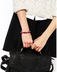 Jack Wills - Purple Talbert Bracelet - Lyst