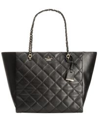 kate spade new york | Black Emerson Place Francelle Tote | Lyst